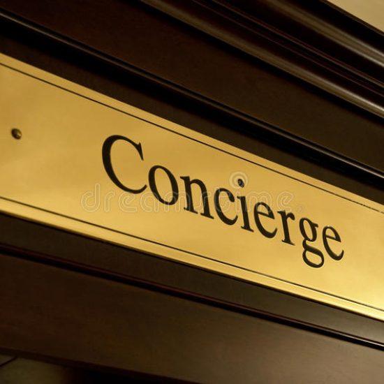 concierge-sign