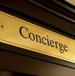 concierge-sign